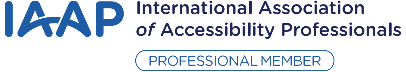 IAAP - International Association of Accessibility Professionals - Member